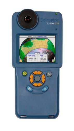 Solmetric Suneye 210-Gps, with Integrated Gps And Hard Case, 210-Gps by Solmetric