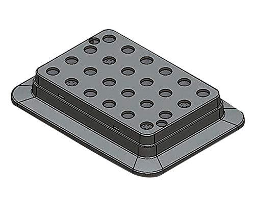 DLAB ブロックバスシェーカー 0.5mL用ブロック /3-7036-11 B071ZMFH9T