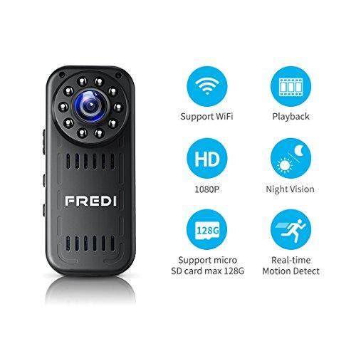 Fredi portable spy camera