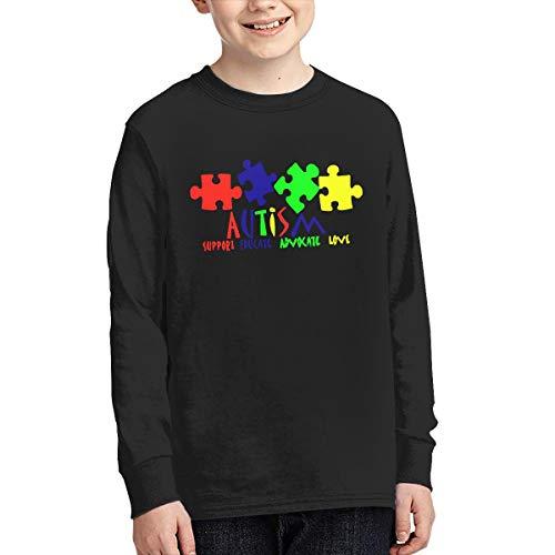 Autism Awareness Teens Boys Girls Long Sleeve T-Shirt