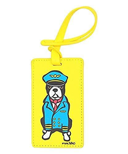 Marc Tetro Luggage Tag (Boston Terrier) (Terrier Tag Luggage Boston)