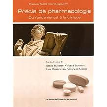 PRÉCIS DE PHARMACOLOGIE 2E ÉD REVUE ET AUGMENTÉE