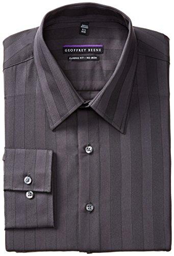 Geoffrey Beene Men's Regular Fit Tonal Stripe