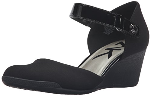 Anne Klein Ak Sport Womens Tasha Wedge Pump, Nero, 11 M Us