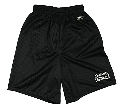 (Arizona Cardinals NFL Men's Coaches Mesh Shorts - Black (X-Large) )