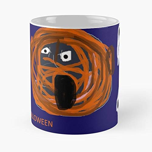 Party Fun Silly Joke - 11 Oz Coffee Mugs Unique Ceramic Novelty Cup, The Best Gift For Halloween.]()