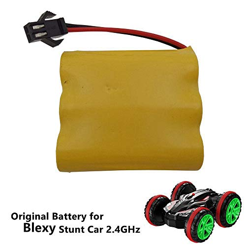 Blexy Chargeable 6V 700mAh Battery for RC Cars Remote Control Boat Powerful Amphibious Double Sided Stunt Car Tank Vehicle