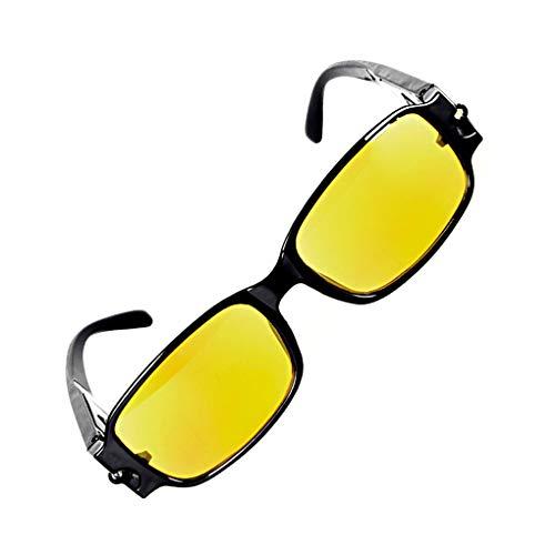 Vision Dioptrie Eyeglass De Multi Lunettes 2 Led Nocturne 12 Lidahaotin Lecture Lumière Force Presbytie Cadre Carré 7IXHgOx