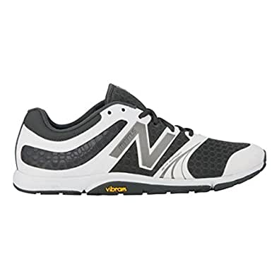 Mens New Balance Minimus 20v3 Trainer, Grey/White, 8 D