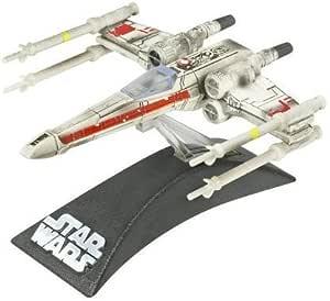 Hasbro Star Wars Titanium Series Die-Cast Red Leader X-Wing Model