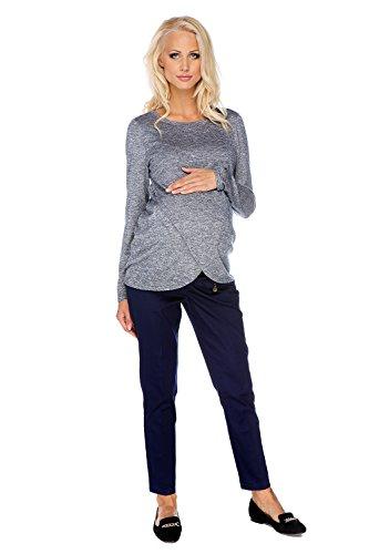 My Tummy Maternité Pantalon Vicky bleu marine