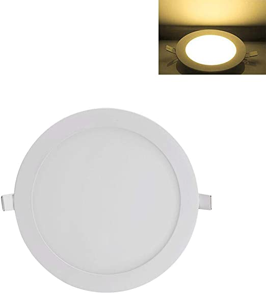iBelly Plafones LED Techo 24W LED Empotrado En El Techo Panel Down Lights Bulb Slim Lamp: Amazon.es: Hogar