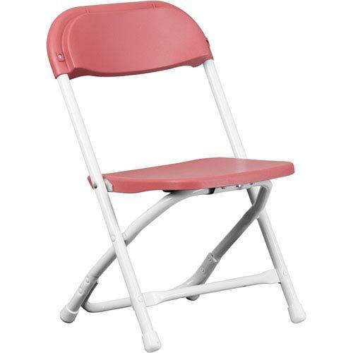 Parkside Kids Burgundy Plastic Folding Chair ()