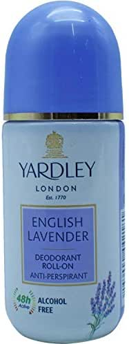 Yardley London English Lavender Deodorant Roll-on Anti-Perspirant -50 ml