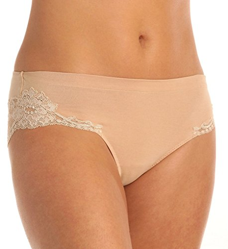 La Perla Women's Souple Brief Nude Briefs LG (La Perla Nylon Briefs)
