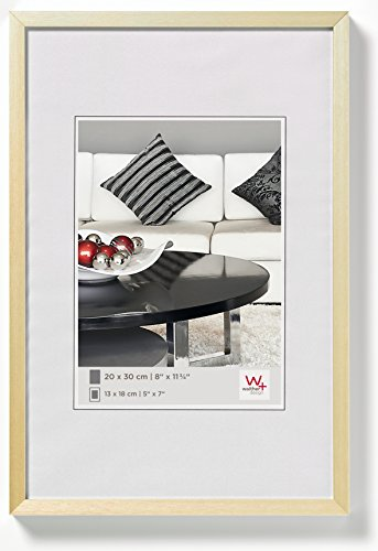 walther design Photo Frame, Gold, 42 x 59, 4 cm (Din A2)