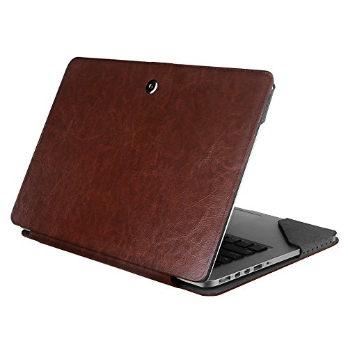 Fintie MacBook Pro 13 Retina Folio Case Sleeve, Premium PU Leather Protective Book Cover for MacBook Pro 13.3