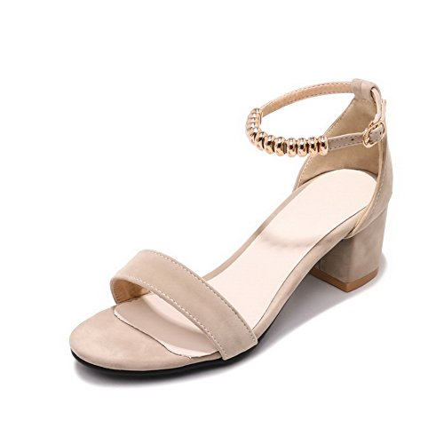 Peep SLC03758 Apricot Toe Sandals Womens AdeeSu Non Marking Cold Urethane Lining vx7tznq