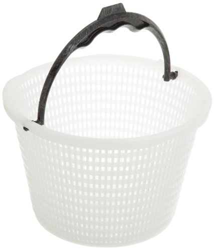 (Waterway 542-3240B White Skimmer Basket Replacement for select Waterway Renegade Pool and Spa Skimmer)
