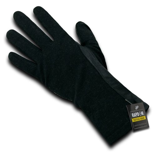 RAPDOM Tactical Nomex Flight Gloves, Black, (Best Flight Gloves With Nomexes)