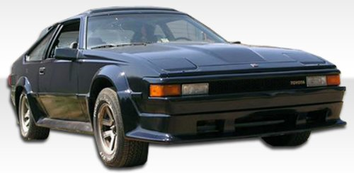 1982-1986 Toyota Supra Duraflex F-1 Kit- Includes F-1 Front Lip(100689), F-1 Rear Lip(100690), and F-1 Sideskirts (100691). - Duraflex Body Kits