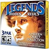 Brand New Brain Games:Legends 2-Hidden Relics Jc (Rated: E10+) (Works With: WIN ME,2000,XP,VISTA,WIN 7)