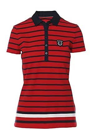 Tommy Hilfiger - Polo - para Mujer Rojo Rojo XL: Amazon.es: Ropa y ...
