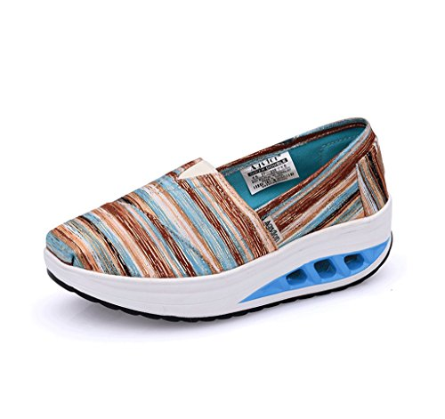 Thick Green Spring Shoes Shoes Bottom Canvas Breathable Slippers and Color Ladies Shoes Sports 34 Size Casual Student Summer 1HBgxn