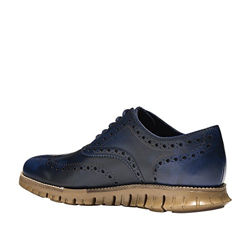 Cole Haan Men's Zerogrand Wing Leather, Peacoat/Rubber, 10 Wide US by Cole Haan (Image #4)