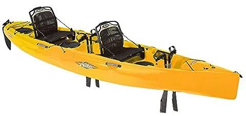 Hobie Mirage 180 Oasis Tandem Kayak Golden Papaya
