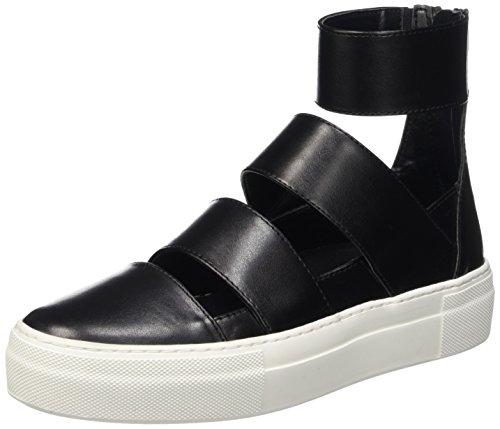 Nero 1002 Mid Femme Noir Roulé Chaussures Col Love à 999 Cult qOH6zww