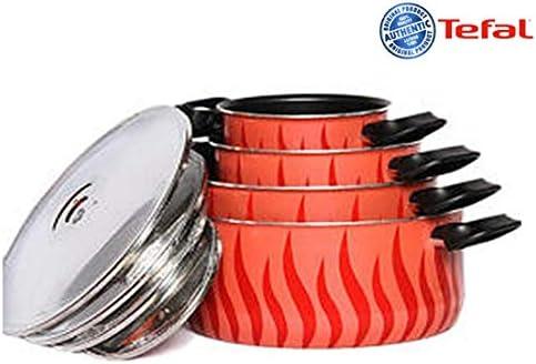 مجموعة تجهيزات المطبخ مكون من 8 قطع من تيفال، متعدد الالوان – (C0459862)