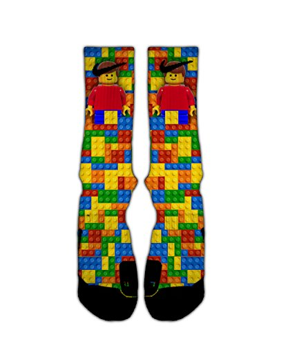 Lego Builder Custom Elite Socks (large)