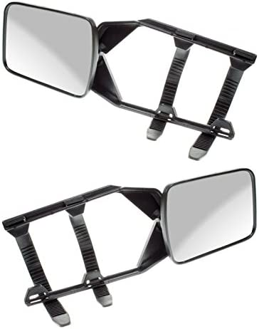 Mercedes C-Class Estat Caravan Trailer Extension Towing Wing Mirror Glass 1 Pair