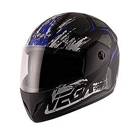 Vega Cliff Access Dull Black Blue Helmet-M