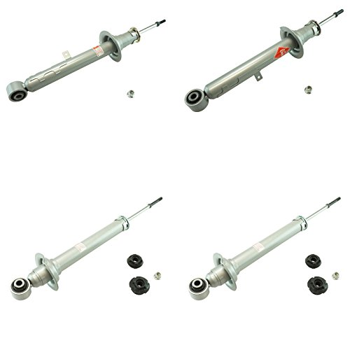 KYB Gas-A-Just 551130 551131 551132 Monotube Shock Strut Kit Front Rear Set 4pc