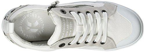 Yellow Cab Damen Strife W Sneakers Weiß (bianco)