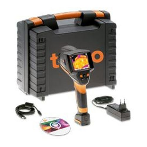 Testo 0563 0875 73 Series 875i Model 875i-2 DLX ABS Deluxe Thermal Imager Kit included Visual Camera and LED Lights, 160 x 120 Pixels FPA Detector, 50mK Sensitivity, 33Hz by Testo