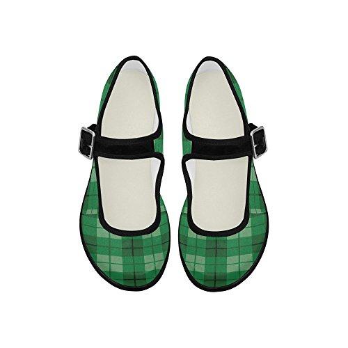InterestPrint Mary Womens Casual Walking Flats Jane InterestPrint Womens Comfort Shoes rwrOqU