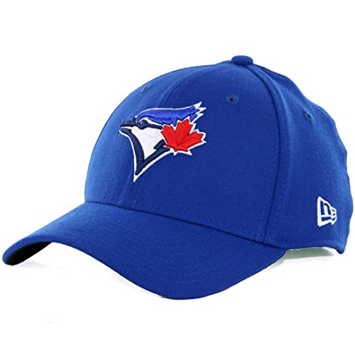 (MLB Toronto Blue Jays Team Classic Game 39Thirty Stretch Fit Cap, Blue, Medium/Large)