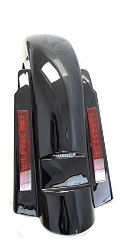 Harley Rear Fender - Mutazu Stretched Extended LED Rear Fender for Harley Davidson Touring 97-2008