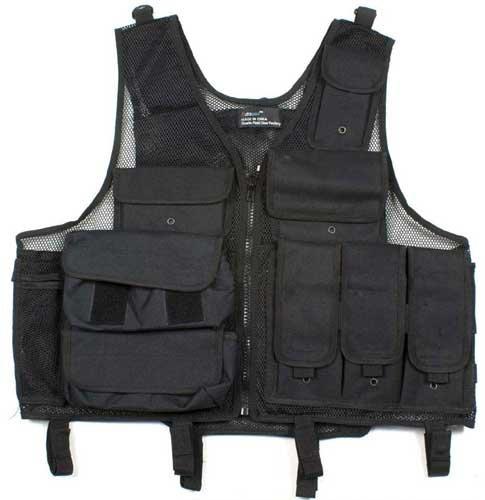 Airsoft Tactical Combat Utility Vest BLK
