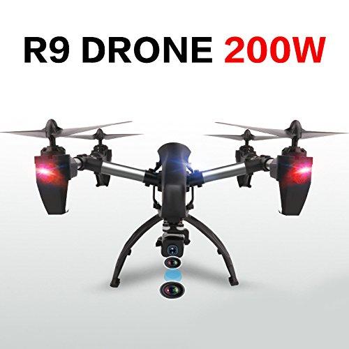 Jiayuane FPV Drone con WiFi 2 Megapixel Camera Regolabile, 4 Motori, Altitudine in Attesa, modalità Headless, One Key Return, RC Quadcopter per Principianti, Bambini, Adulti