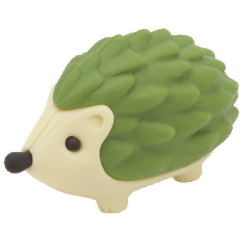 Ty Beanie Eraserz - Prickles the Hedgehog Green ()