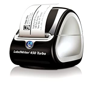 DYMO LabelWriter Labeller Thermal, 450 Turbo Label Printer, Box of 1 (1756693) (B003BL3Z0C) | Amazon Products