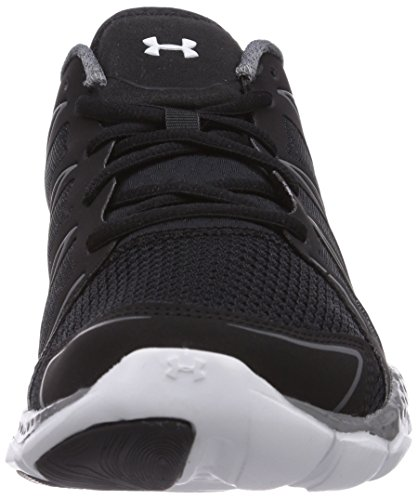 Under Armour UA MICRO G ENGAGE II - Zapatillas de running de material sintético para hombre negro - negro (negro/Graphite/blanco 002)