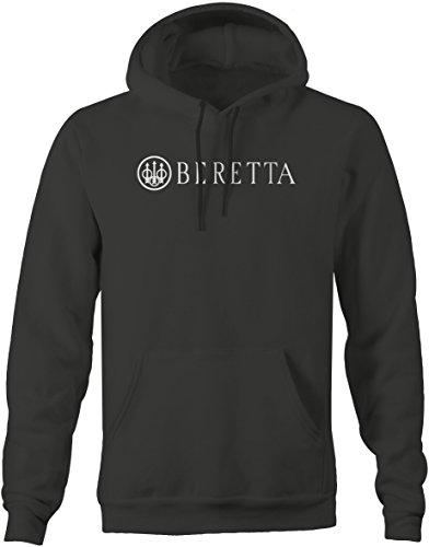 Right Mens Sweatshirt - Beretta Men's Hooded Fleece Sweatshirt - Xlarge