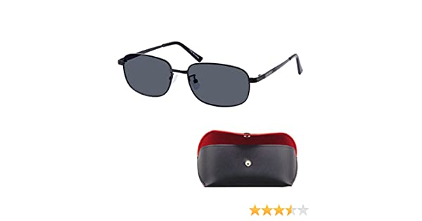 c9a2400c2e Amazon.com  Shortsighted Glasses Tinted Grey Polarized Lenses Sunglasses  for Myopia -1.25 Metal Frame    Please kindly note these are not reading ...