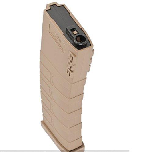 G&G 120rd Polymer Mid-cap Magazine for M4 / M16 Series Airsoft AEG Rifles - Desert Tan