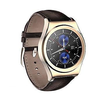 TR Reloj elegante androide del androide del smartwatch de los hombres x10 monitor iqi de la